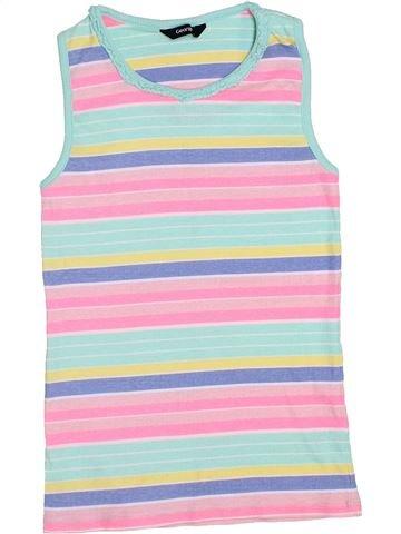 T-shirt sans manches fille GEORGE violet 12 ans été #1433127_1