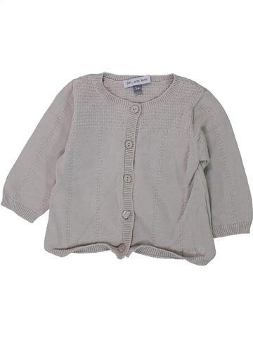Chaleco niña DPAM gris 3 meses invierno #1433275_1