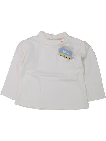 Camiseta de cuello alto niña C&A blanco 6 meses invierno #1433411_1