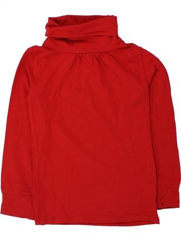 Camiseta de cuello alto niña DPAM rojo 6 años invierno #1433416_1