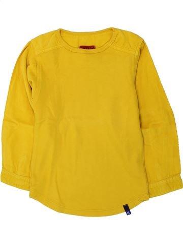 T-shirt manches longues garçon KENZO jaune 6 ans hiver #1433530_1