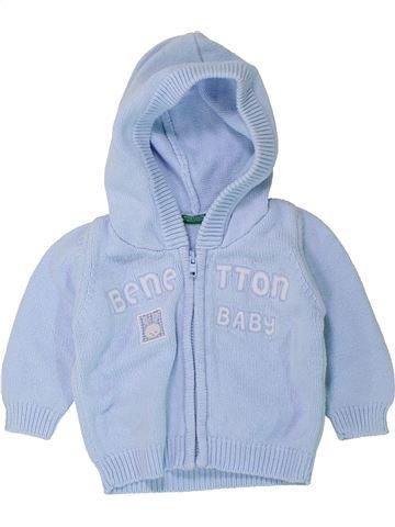 Chaleco niño BENETTON azul 6 meses invierno #1433617_1