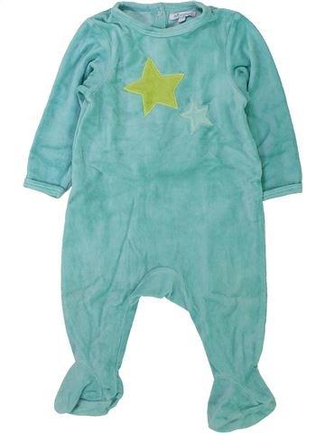 Pijama de 1 pieza unisex PREMAMAN verde 12 meses invierno #1433816_1