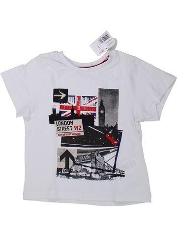Camiseta de manga corta niño ORCHESTRA blanco 2 años verano #1433840_1