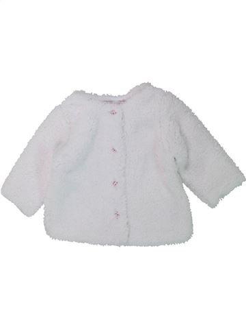 Chaleco niña DPAM blanco 6 meses invierno #1433882_1