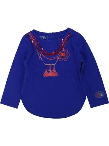 Camiseta de manga larga niña LA COMPAGNIE DES PETITS azul 12 meses invierno #1433887_1