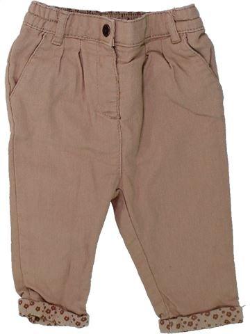 Pantalón niña ORCHESTRA marrón 9 meses invierno #1433995_1