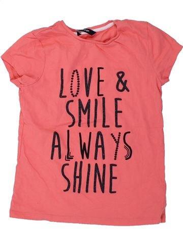 Camiseta de manga corta niña GEORGE rosa 8 años verano #1434117_1