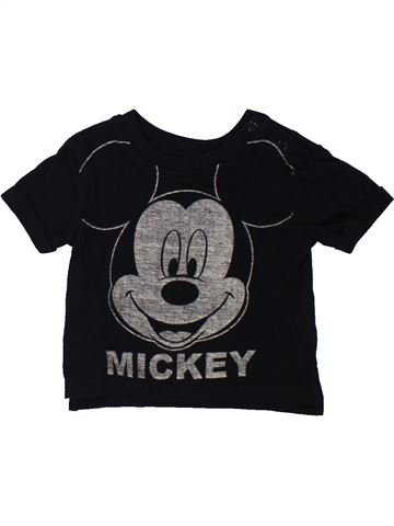 Camiseta de manga corta niño DISNEY negro 3 meses verano #1434229_1