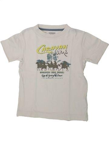 T-shirt manches courtes garçon VERTBAUDET blanc 3 ans été #1434605_1