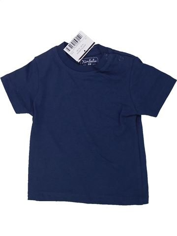 T-shirt manches courtes garçon KIMBALOO bleu 6 mois été #1434956_1