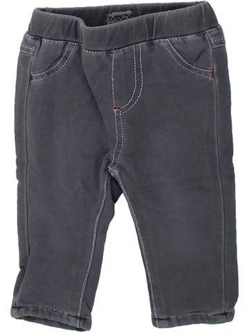 Pantalon garçon BRIOCHE gris 3 mois hiver #1435130_1