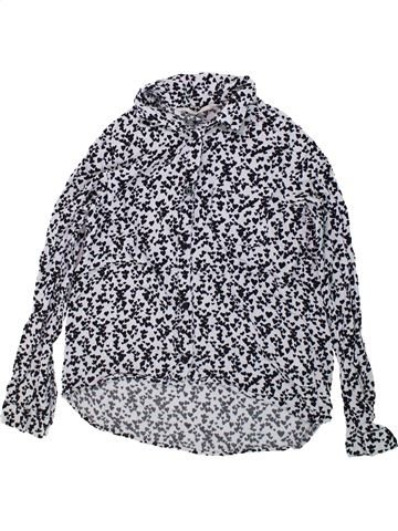 Blouse manches longues fille H&M gris 10 ans hiver #1435204_1