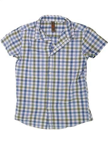 Chemise manches courtes garçon URBAN 65 OUTLAWS gris 11 ans été #1436437_1