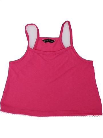T-shirt sans manches fille CANDY COUTURE rose 9 ans été #1436580_1