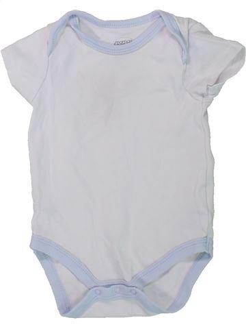T-shirt manches courtes garçon MAMAS & PAPAS blanc 9 mois été #1437188_1