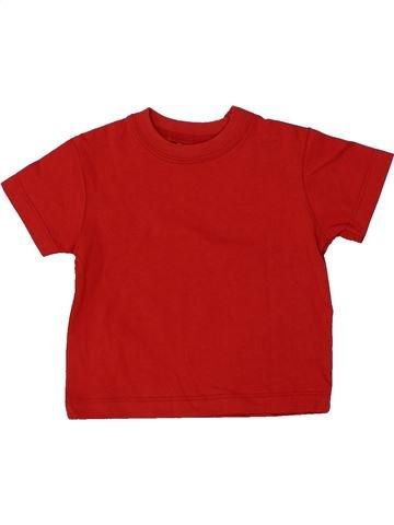 Camiseta de manga corta niño CHEROKEE rojo 6 meses verano #1437634_1