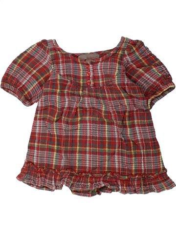 Blusa de manga corta niña LISA ROSE marrón 2 años verano #1437804_1