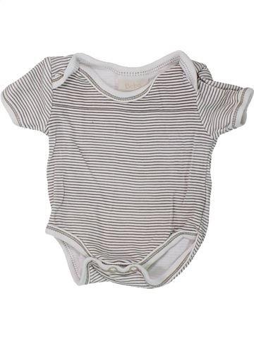 T-shirt manches courtes garçon BEBE BONITO gris naissance été #1438144_1