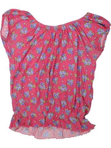 Camiseta de manga corta niña MISS E-VIE rosa 13 años verano #1438572_1