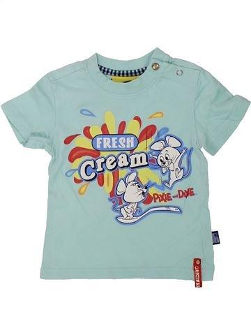 T-shirt manches courtes garçon ORIGINAL MARINES gris 9 mois été #1438592_1