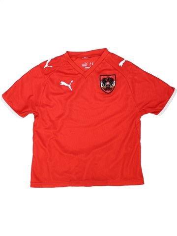 Camiseta deportivas niño PUMA rojo 8 años verano #1438859_1