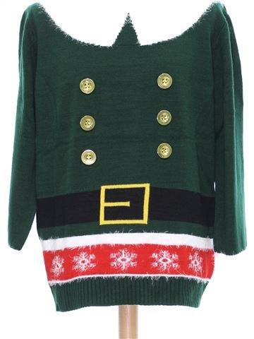 Pull de Noël Homme femme CEDAR WOOD STATE XL hiver #1438928_1