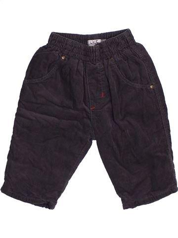 Pantalon garçon CATIMINI noir 3 mois hiver #1440256_1
