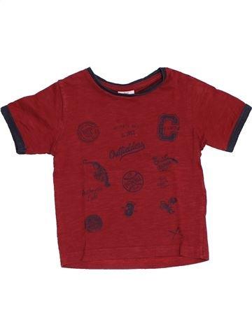 T-shirt manches longues garçon TAPE À L'OEIL violet 2 ans hiver #1440379_1