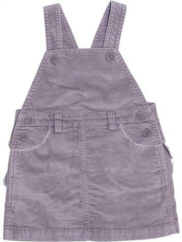 Robe fille LILI GAUFRETTE gris 18 mois hiver #1441031_1