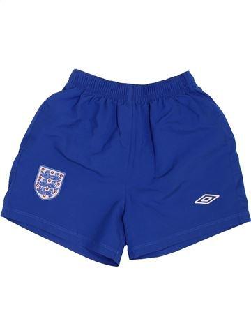 Short de sport garçon UMBRO bleu 7 ans été #1441528_1