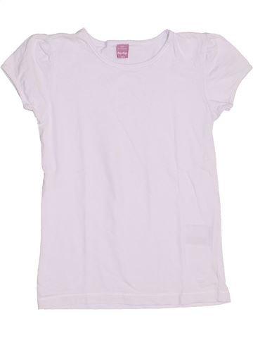 T-shirt manches courtes fille DOPODOPO rose 7 ans été #1441805_1