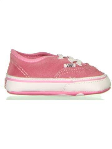 Zapatos bebe niña VANS blanco 18 verano #1442364_1