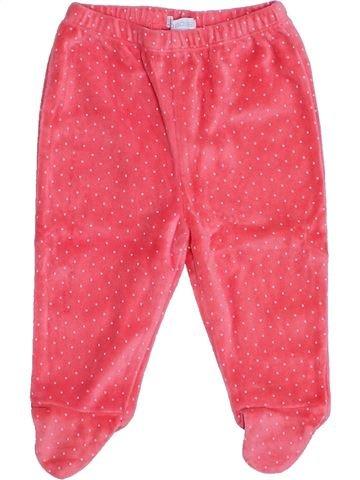 Pantalon fille OKAIDI rose 6 mois hiver #1442553_1