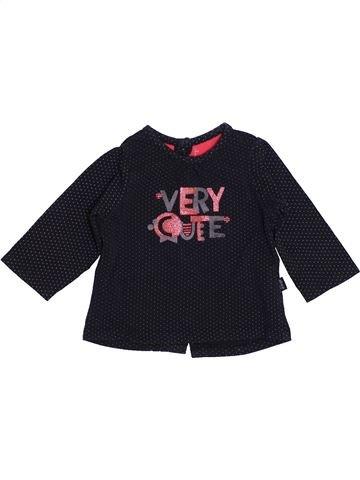 Camiseta de manga larga niña SUCRE D'ORGE negro 6 meses invierno #1443410_1
