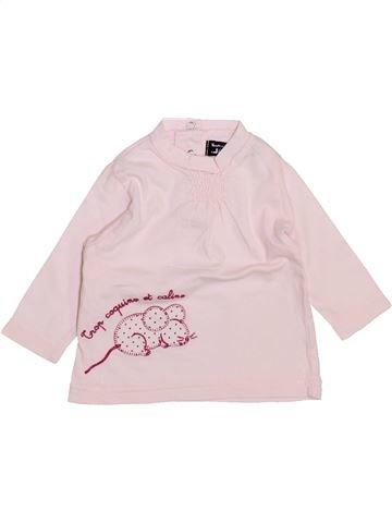 Camiseta de manga larga niña TOUT COMPTE FAIT blanco 3 meses invierno #1443846_1