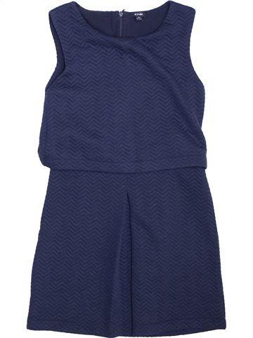 Robe fille KIABI bleu 10 ans hiver #1444501_1