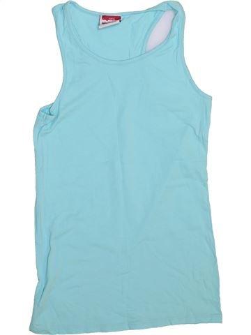 T-shirt sans manches fille YIGGA bleu 14 ans été #1444830_1
