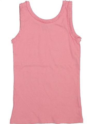 T-shirt sans manches fille I LOVE GIRLSWEAR rose 9 ans été #1444903_1