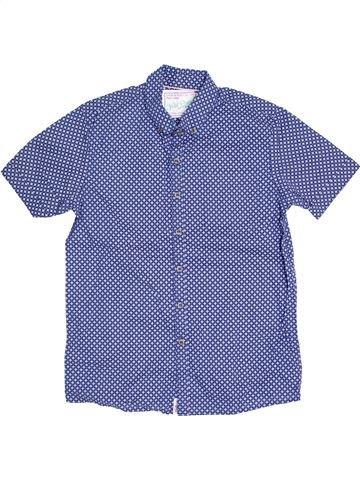 Chemise manches courtes garçon NEXT bleu 11 ans été #1445277_1