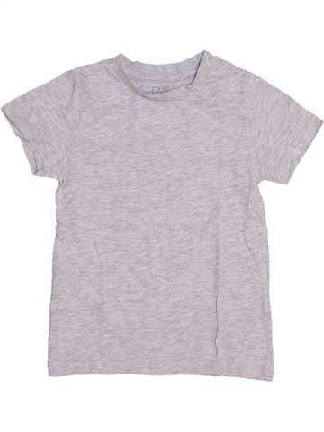 T-shirt manches courtes garçon OVS blanc 4 ans été #1445504_1