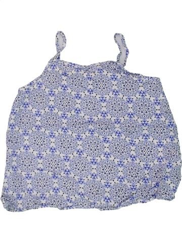 Blusa de manga corta niña MISS E-VIE azul 10 años verano #1445831_1