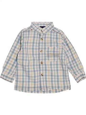 Chemise manches longues garçon SERGENT MAJOR gris 2 ans hiver #1445896_1