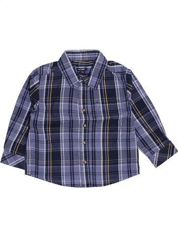 Chemise manches longues garçon KIABI bleu 2 ans hiver #1445901_1
