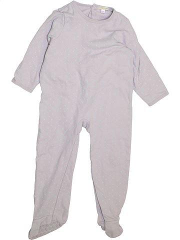 Pyjama 1 pièce fille VERTBAUDET blanc 3 ans hiver #1446151_1