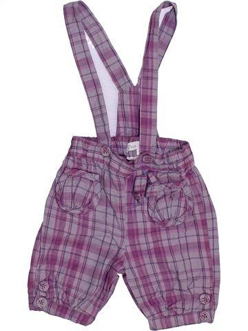 Salopette fille KIMBALOO violet 6 mois hiver #1446746_1