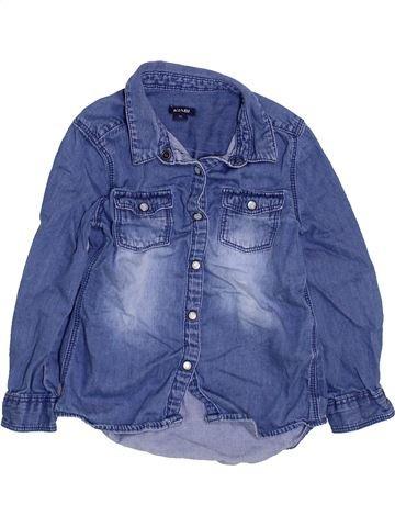 Blouse manches longues fille KIABI bleu 3 ans hiver #1447357_1