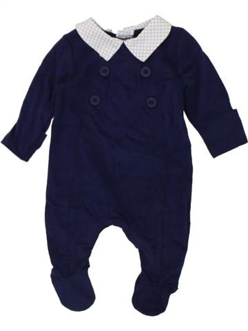 Pyjama 1 pièce garçon MOTHERCARE violet naissance été #1447385_1