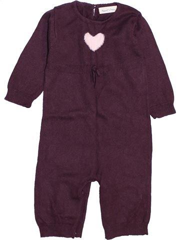 Combinación larga niña BOUT'CHOU violeta 9 meses invierno #1447459_1