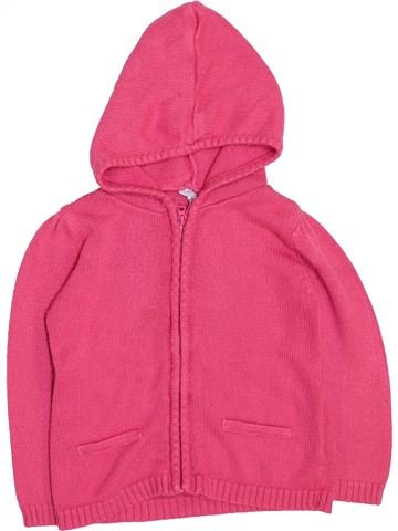 Gilet fille KIMBALOO rose 2 ans hiver #1447542_1